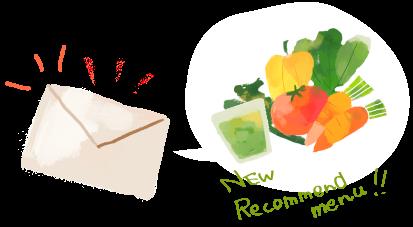 New Recommend menu