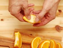 step2:オレンジの切り方
