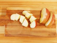 step3:りんごの切り方