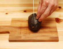 step1:アボカドの切り方