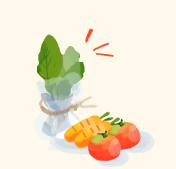 step4:葉もの野菜の保存方法