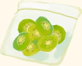 フルーツの冷凍保存方法